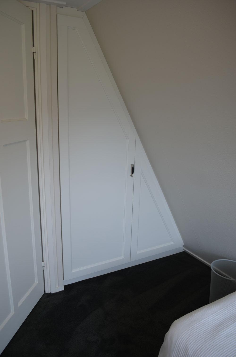 Paneel deuren met schuin facet