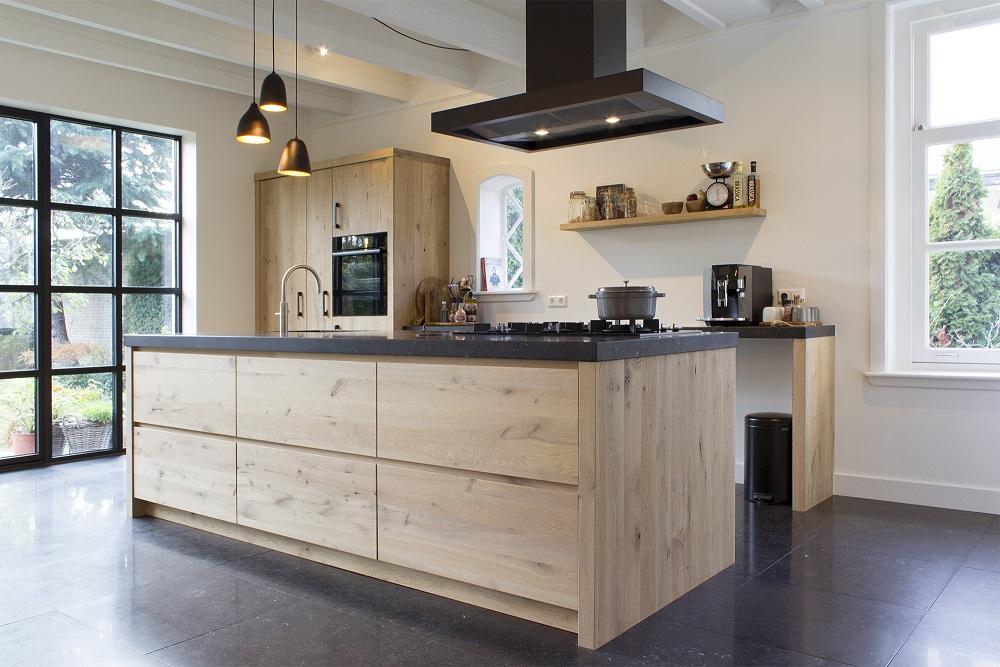 Spiksplinternieuw Eiken keuken massief – Herald Luiten Interieur HM-26